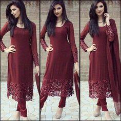 Mode Bollywood, Churidar Designs, Desi Clothes, Indian Clothes, Indian Attire, Indian Wear, Mode Hijab, Pakistani Outfits, Indian Designer Wear