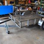 Utility Trailer Photos - Red Wing Steel Works Utility Trailer, Red Wing, Picnic Table, Wings, Steel, Photos, Home Decor, Trailers, Pictures