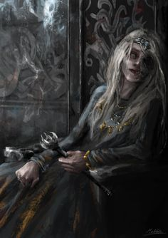 Cold Heart, Hel Goddess, Foto Portrait, Asatru, Norse Mythology, Norse Pagan, Dark Fantasy Art, Fantasy Rpg, Dark Ages