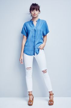 KENDALL + KYLIE Top & Joe's Jeans