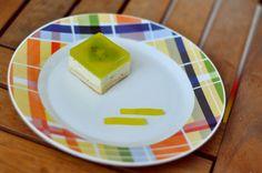 kiwi cake with heart