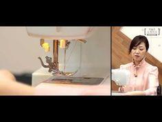 [재봉틀] 재봉틀 실 장력 조절 & 예쁜 바늘 땀을 만드려면?! - YouTube