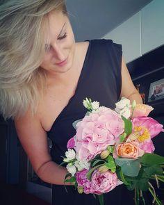#flowers #buquet #roses #vuvuzela #love #vendastyle #peony #pink #romantic #lovemyjob #vendastyle