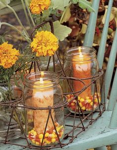 Fun Halloween  Fall Decorating Ideas_10