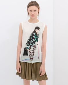 ZARA - SALE - PRINTED T-SHIRT