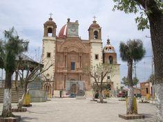 Iglesia con capilla, Mineral de la Luz, Guanajuato, Ruta de los pueblos mineros