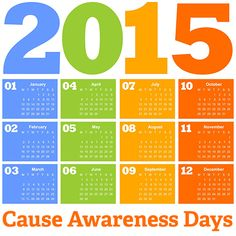 Mark Your Calendars! Cause awareness days can be powerful for fundraising: http://www.nptechforgood.com/2014/12/16/annual-calendar-of-social-good-and-cause-campaigns/
