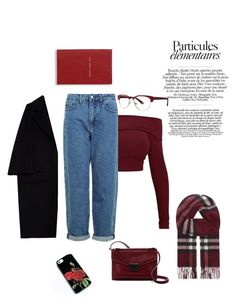 """red"" by soilemezidou18 on Polyvore featuring Loeffler Randall, Topshop, Zac Posen, Burberry, Marni and Smythson"