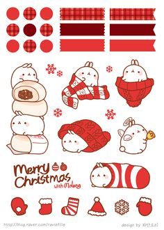 .<3 Molang Christmas <3