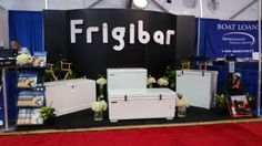 The Frigibar Booth (541) at the 2016 Fort Lauderdale International Boat Show #FLIBS2016