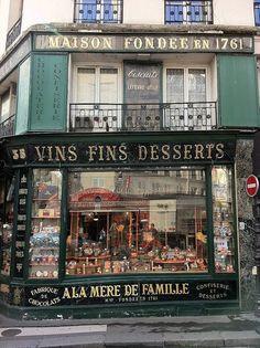 A La Mère de Famille, 9th arrondissement, Paris.