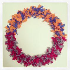 House Divided wreath - FL Gators vs. Ohio State. I would need OSU & Penn State. Goooooo Bucks
