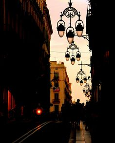 Carrer Jaume I, Barcelona, Catalunya Fc Barcelona, Places To Travel, Places To Visit, Lantern Post, Cities, Belle Villa, Street Lamp, Street Photo, Spain Travel