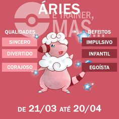 Já imaginou se os signos do zodíaco fossem Pokémons? Astrology Zodiac, Sagittarius, Zodiac Signs, All About Aries, Pokemon, Spiritual Quotes, Personality, Cancer, Family Guy