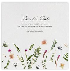 Convite Save the Date