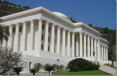 Edifício da Casa Universal de Justiça.