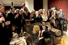 Sofa so good: Kylie Minogue and David Gandy were given the best seat in the - London Evening Standard