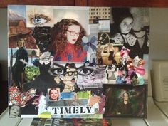 My collage canvas