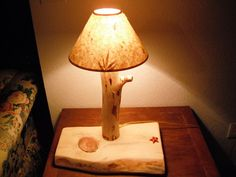 How To Make A Custom Pine Log Lamp On The Cheap!