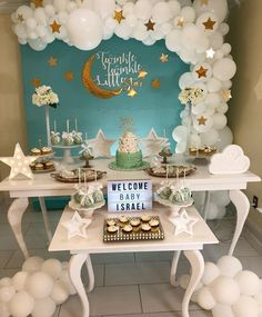 In Love 😍 Baby Shower honoring Baby ISRAEL WILLIAMS. Twinkle Twinkle Little Star. Baby Shower Decorations For Boys, Boy Baby Shower Themes, Baby Shower Fun, Baby Shower Gender Reveal, Baby Shower Balloons, Baby Boy Shower, Babyshower Themes For Girls, Cloud Baby Shower Theme, Space Baby Shower