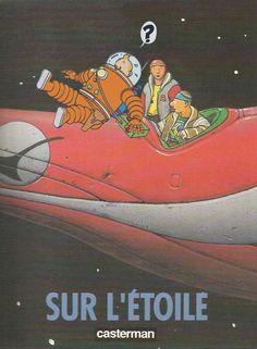 Les Aventures de Tintin - Album Imaginaire - Sur l'Étoile