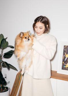 & Other Stories | Inspiration: Jayne Min & pomeranian