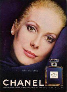 Catherine Deneuve pour Chanel n°5, la beauté de la femme française