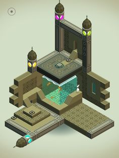 Monument Valley | Persian music box perhaps?