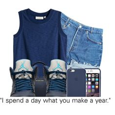 JORDANS by theuniquedasia on Polyvore featuring H&M, Levi's and Michael Kors