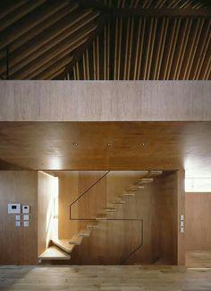 Detalle de escalera / Apollo Architects