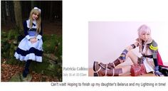 http://www.bostoncomiccon.com/index.html This is what a Boston Comic Con 2014 fan is saying they will be for the Costume Contest! #BostonComicCon #lightning #Belarus #finalfantasy #hetalia #costumecontest #Boston