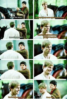 i love how Arthur let's Merlin insult him even tho he's the prince/king Merlin Funny, Merlin Memes, Merlin Quotes, Merlin Merlin, Sherlock Quotes, Best Tv Shows, Favorite Tv Shows, Movies Showing, Movies And Tv Shows