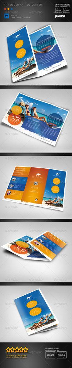 Travel Agency Trifolder - Informational Brochures