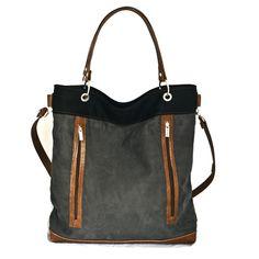 """Szare torebki znów w modzie. To torebka z pracowni Pana Ignatowicza z kolekcji PPP """"piękna, prosta, praktyczna"""". Ocieńcie same... którą byście kupiły???"""