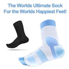 TOTAL COMFORT DAY SOCKS. THE ULTIMATE IN THERAPEUTIC PROTECTIVE AND COMFORT VALUE. BLACK
