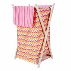 HAMPER SET - SAVANNAH|Fab Style Kids Rooms http://fabstylekidsrooms.com/Bathrooms/Hampers/HAMPER-SET-SAVANNAH #babygirl