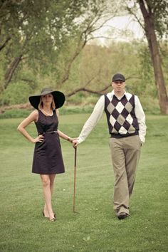 Forget the Football player and the Cheerleader....Golf Couples are the Cutest <3