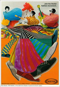 Dexter Shoe Ad 1971- I wore a pair of these to my high school graduation in 1972.