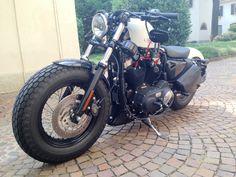 Harley Davidson Forty-Eight Sportster #harleydavidsonsportsterfortyeight