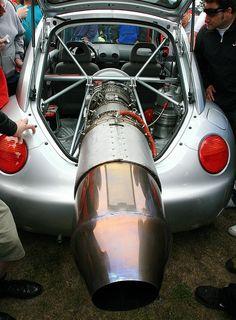 VW Bug – Engine in Rear