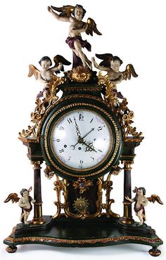 ❤ - Antique clock                                                                                                                                                      More