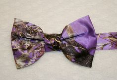 Great for a camo prom Cowgirl Wedding, Camo Wedding, Wedding Men, Wedding Stuff, Plum Wedding, Bow Tie Wedding, Camo Bows, Camouflage Wedding, Purple Camo