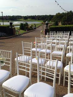 Ceremony seating.