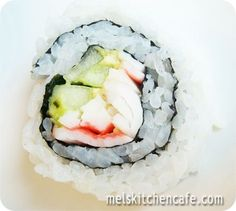 How to make California Sushi Rolls. Now I need to find a recipe for YumYum Sauce... anybody know of a good one?