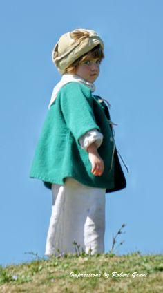 Little Boy Fort Ontario Scotts Day