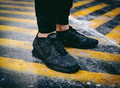 Nike Flyknit Racer Midnight - 2016 (by doggytwoshoes)