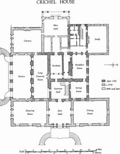 18th century English Palaces and stately homes from