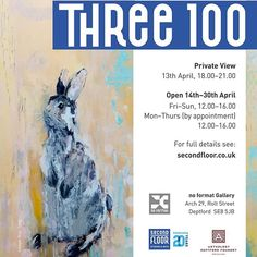 See the #Three100 collection in person from next week @noformatgallery PV 13/4. Please help us fundraise for permanent and affordable artist studios. #art #painting #sculpture #ceramics #drawing #studios #deptford