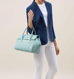 Blue Guildford Bag | Handbags | Bags | Hobbs