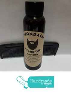 Adirondacks Beard Oil 2 oz + Free Comb Bay Rum scent from Adirondacks Beard Oil https://www.amazon.com/dp/B01N8P8EVA/ref=hnd_sw_r_pi_dp_hsomybMBVMTQT #handmadeatamazon